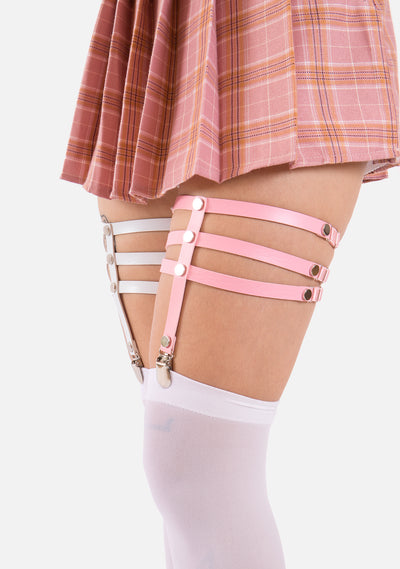 Ransom Vegan Leather Leg Garter (3 Colors)