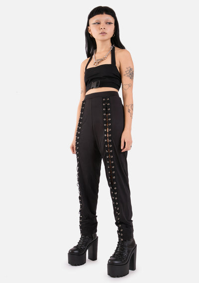 Damnation Laced Up Leggings