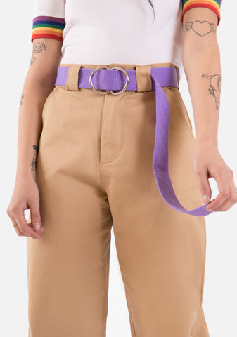 Crowd Pleaser Canvas Belt (4 Colors)