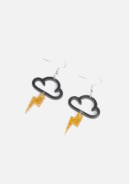 Shocker Lightning Earrings