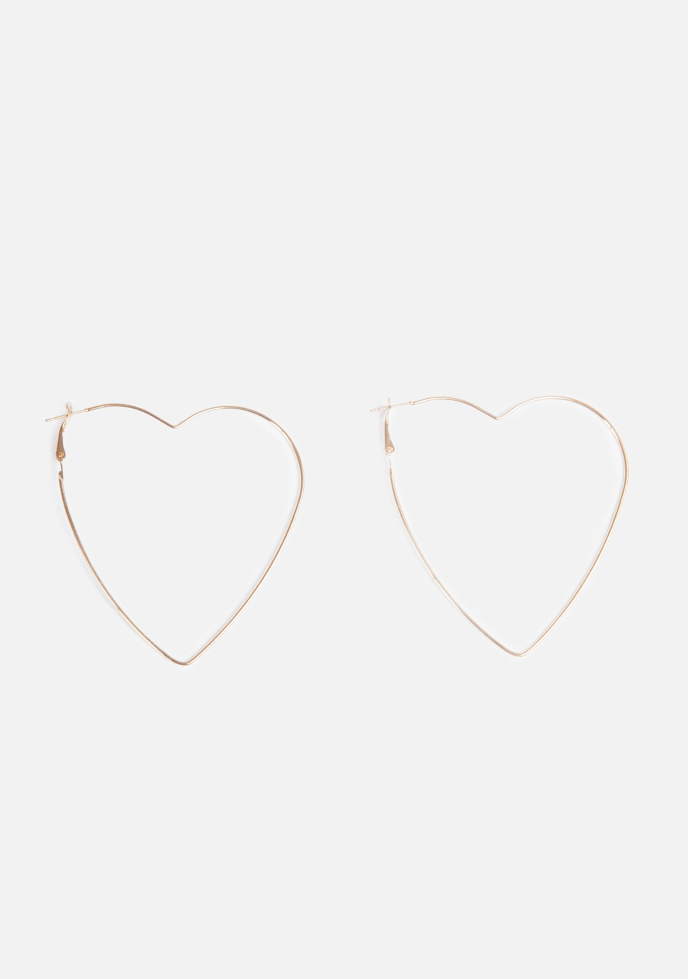I Heart U Hoop Earrings (2 Colors)