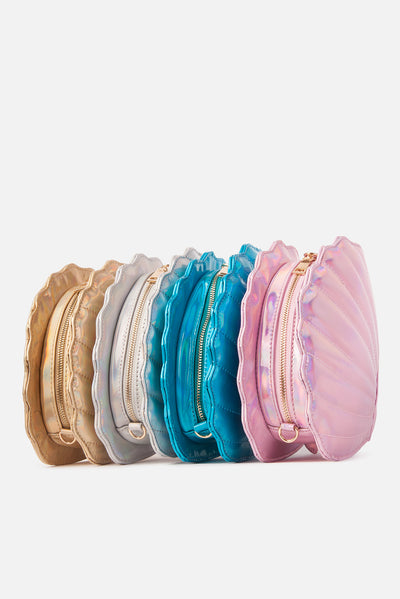 Sea Shellz Holographic Shoulder Bag (4 Colors)
