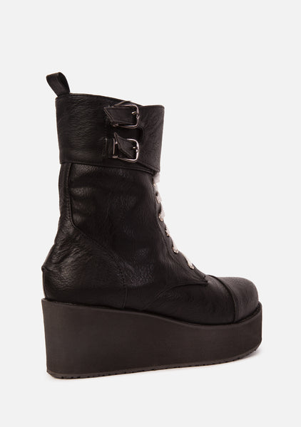 Jungle Chunky Platform Boots (2 Colors)