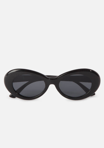 Teen Spirit Oval Sunglasses (4 Colors)