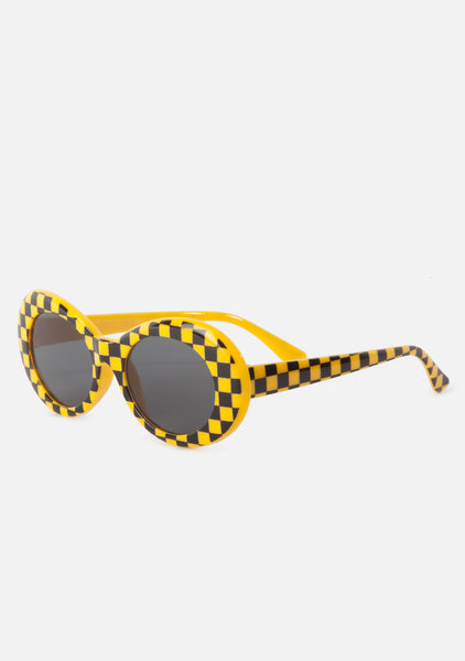 Finish Line Oval Sunglasses (2 Colors)
