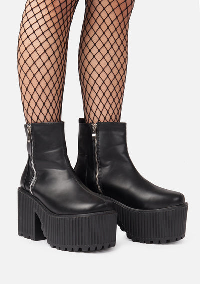 Cleaver Chunky Platform Boots
