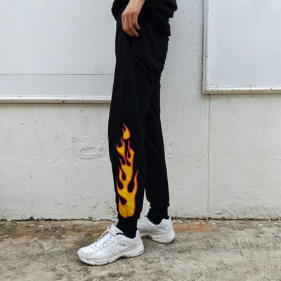 Flame On Sweats (3 Colors)