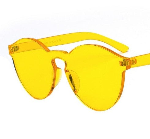 Jaded Transparent Sunglasses (9 Colors)