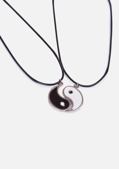 Soulmate Yin Yang Friendship Necklaces