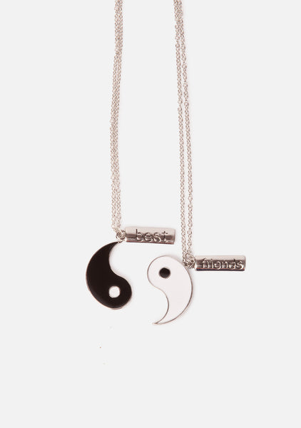 Yin To My Yang Friendship Necklaces