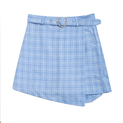 Lovebugz Checkered Skirt (3 Colors)