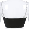 Sure Chain Crop Top