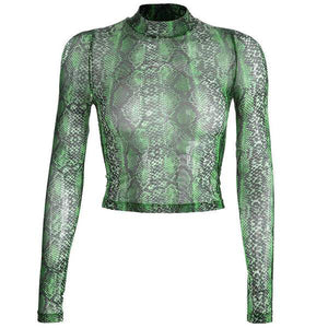 Reptile Mesh Long Sleeve