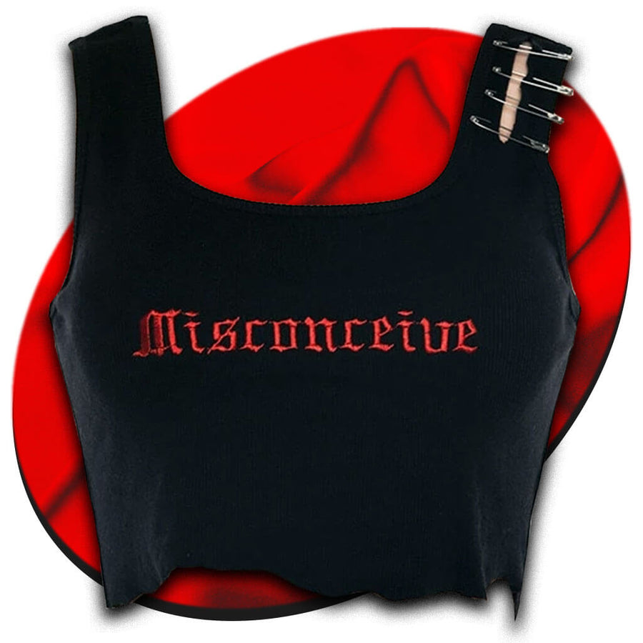 Misconceive Crop Top