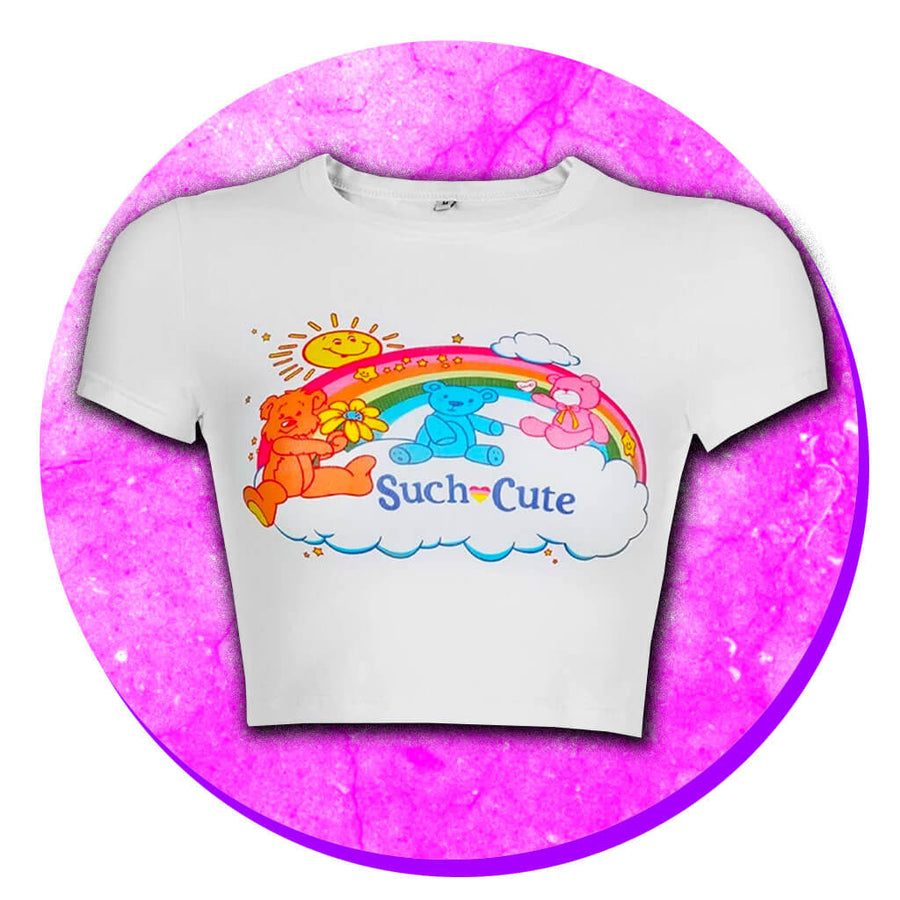 Kitsch 90s Crop Top