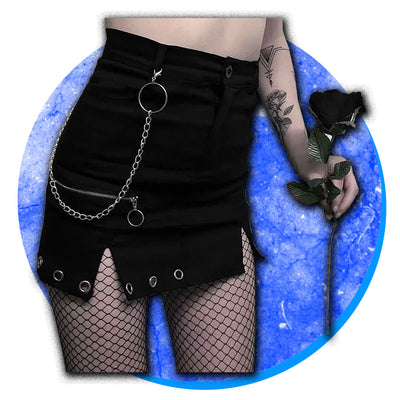 Necromancer Chain Skirt