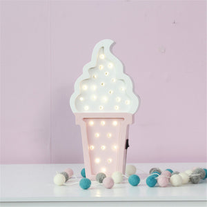 Whipped Ice Cream Light