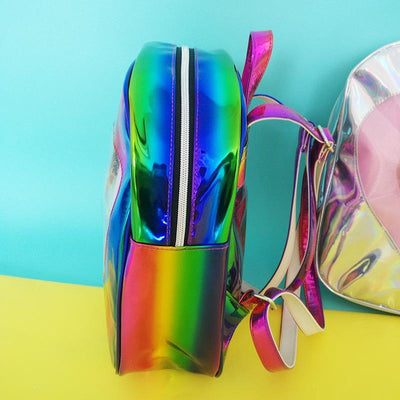 Metallic Heart Backpack (2 Colors)