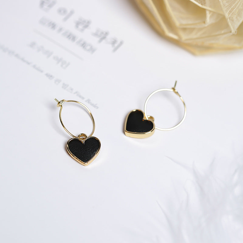Feelings Heart Earrings (3 Colors)