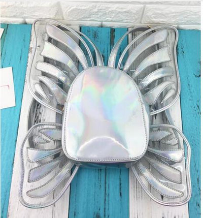 Holographic Butterfly Backpack (4 Colors)