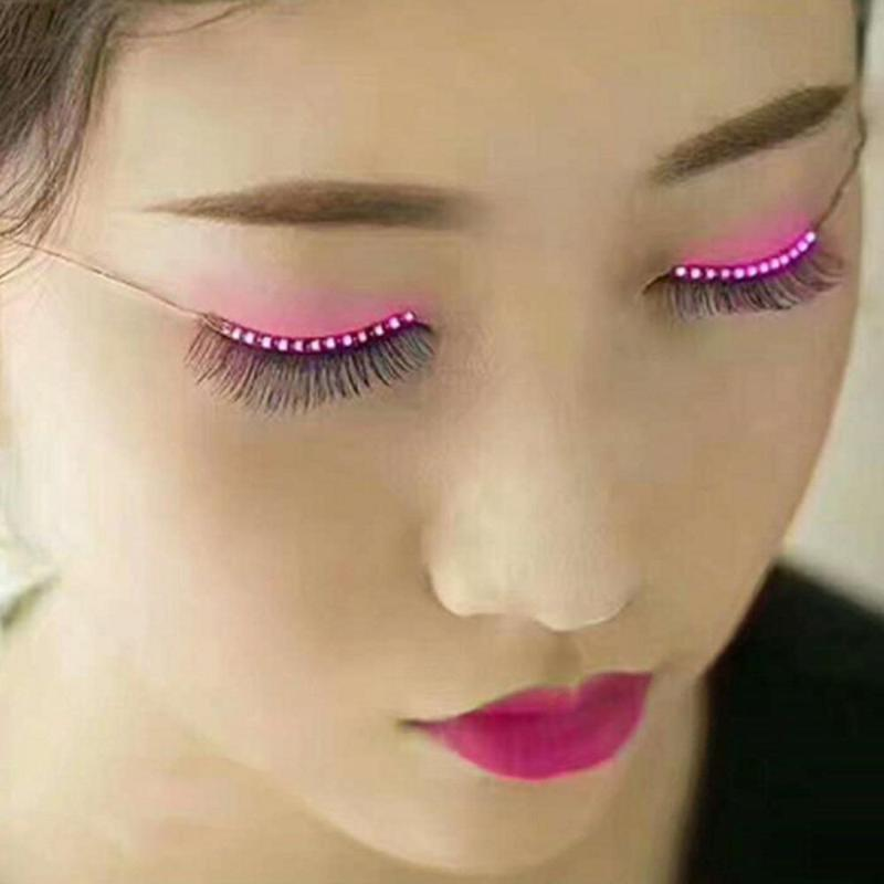 Rave Queen LED Eye Accessory (PINK)