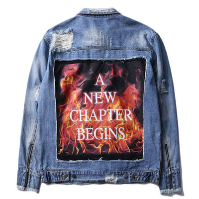 New Beginnings Denim Jacket