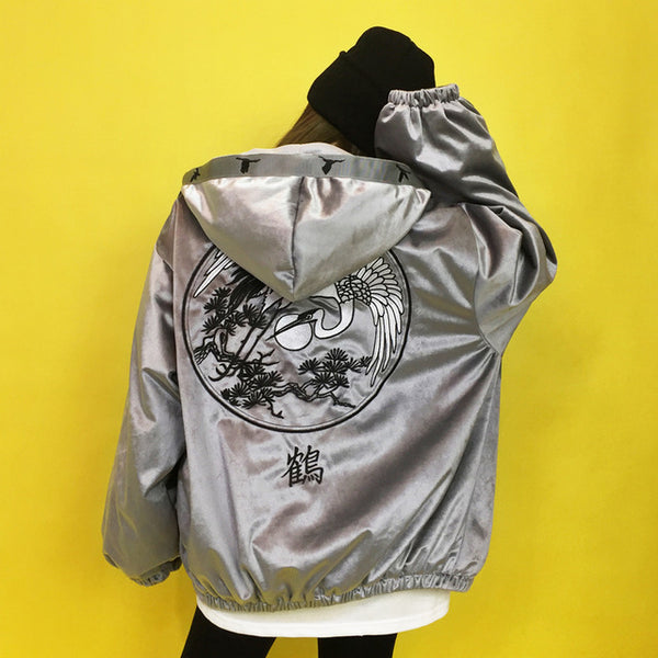 Fate Embroidered Jacket (2 Colors)