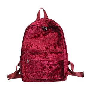 Crushin' Velvet Backpack (4 Colors)