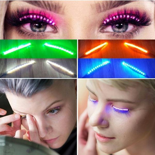 Rave Queen LED Eye Accessory (PURPLE)