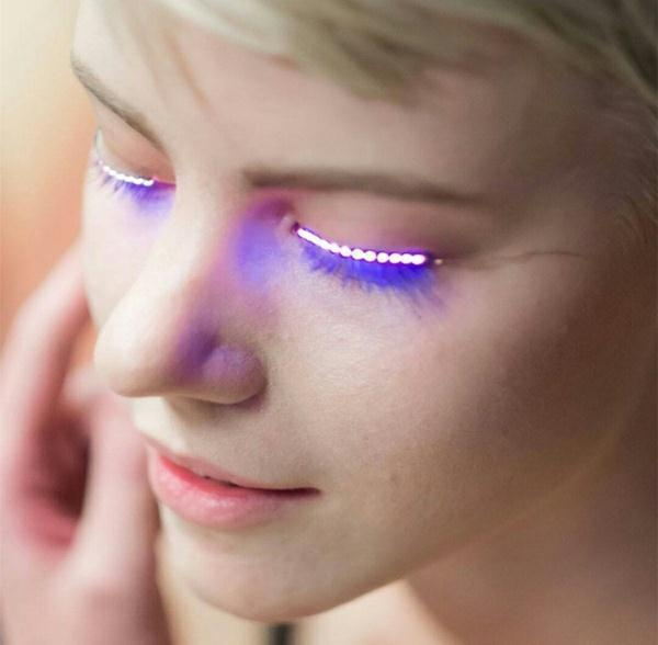 Rave Queen LED Eye Accessory (ORANGE)