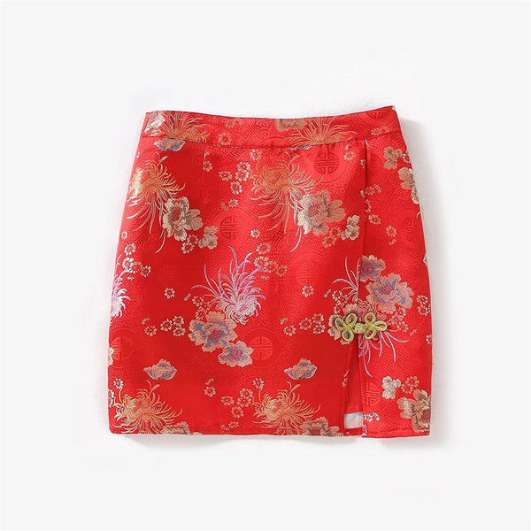 Blooming Cherry Skirt (2 Colors)