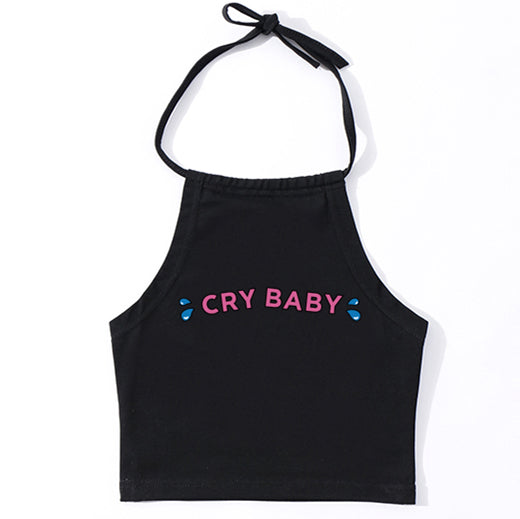 Baby Tears Halter Top (2 Colors)