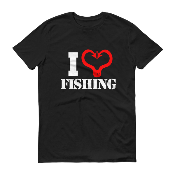 CMP - I Love Fishing - WH/RED - Festival Printing