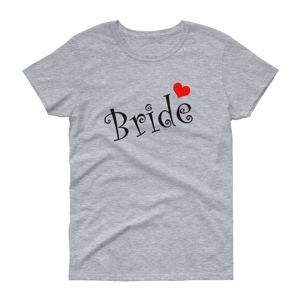 Bride Curlz with Red Heart - Festival Printing