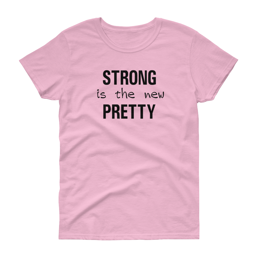 GYM - Strong is the New Pretty - Blk - Festival Printing
