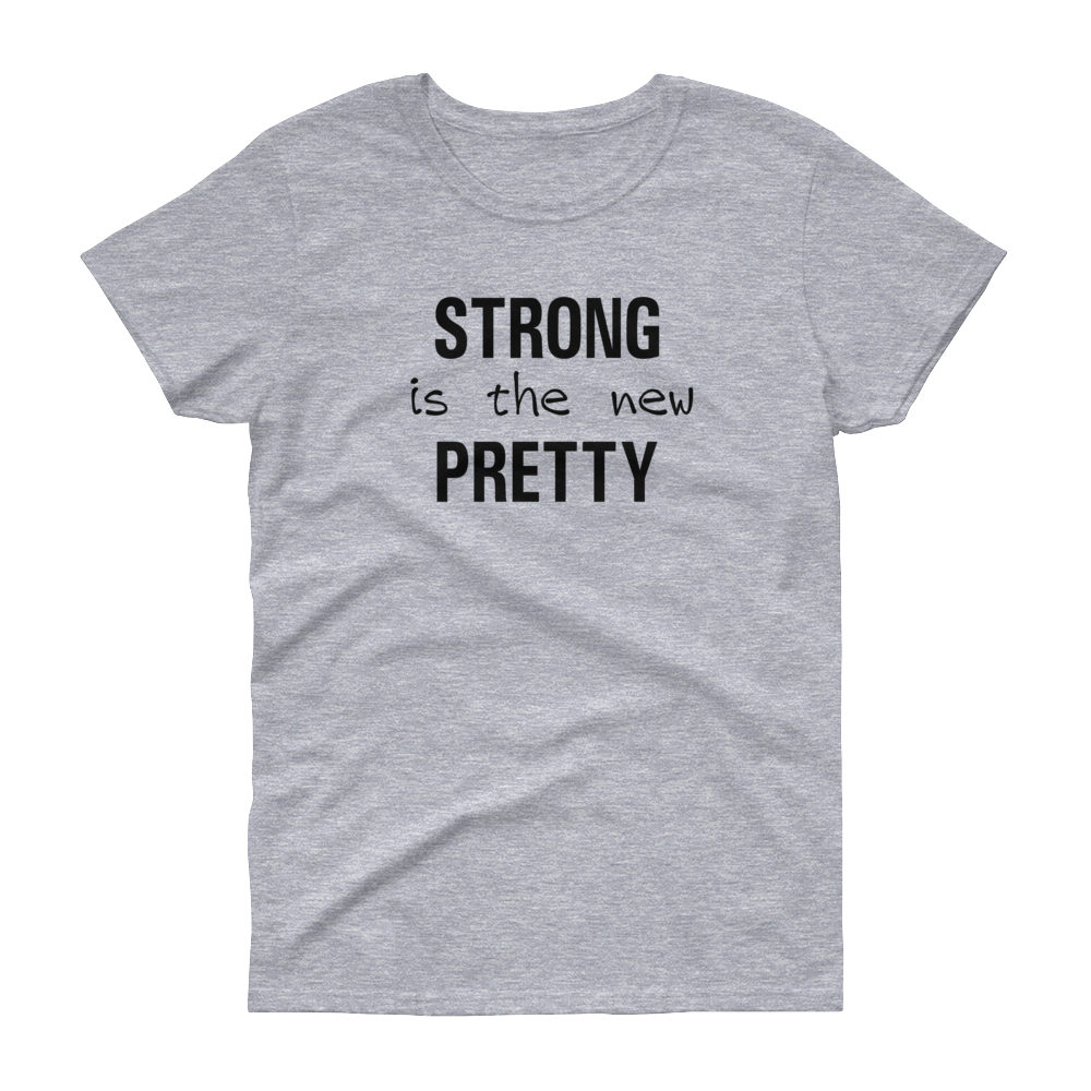 GYM - Strong is the New Pretty - Blk