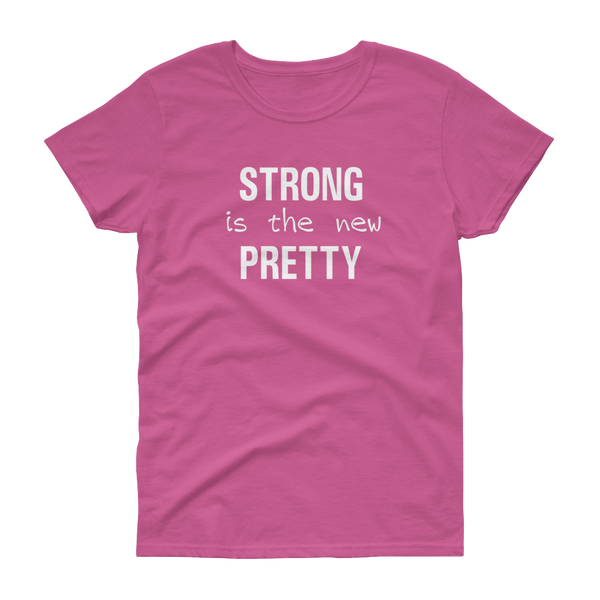 GYM - Strong is the New Pretty - Wh - Festival Printing