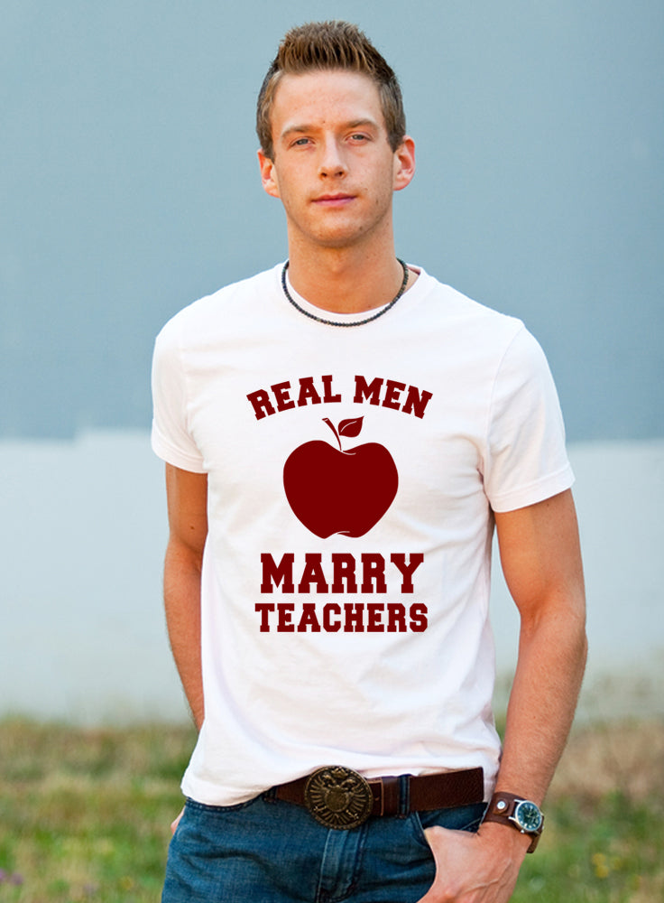 GR - Real Men Marry Teachers - Festival Printing
