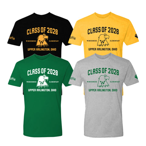 Windermere Elementary Upper Arlington Class of 2028 t shirt