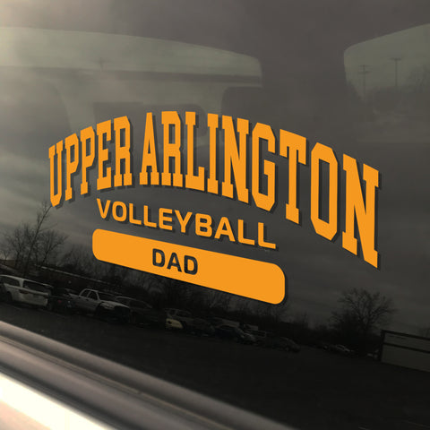 Upper Arlington Volleyball Dad UAHS Golden Bear Sticker
