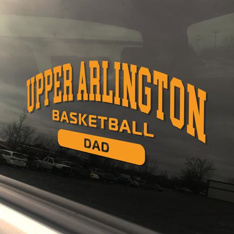 Upper Arlington Basketball Dad UAHS Golden Bear Sticker