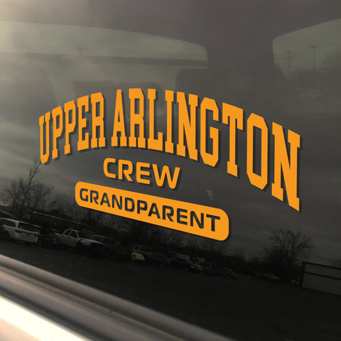 Upper Arlington Crew Grandparent UAHS Golden Bear Sticker