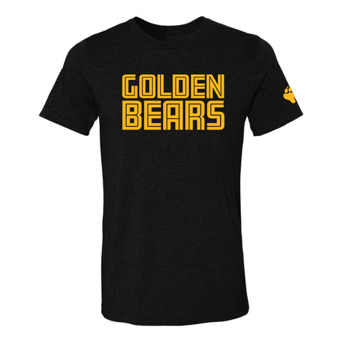 UA Outfitters - UA Golden Bears - gold - black - t shirt