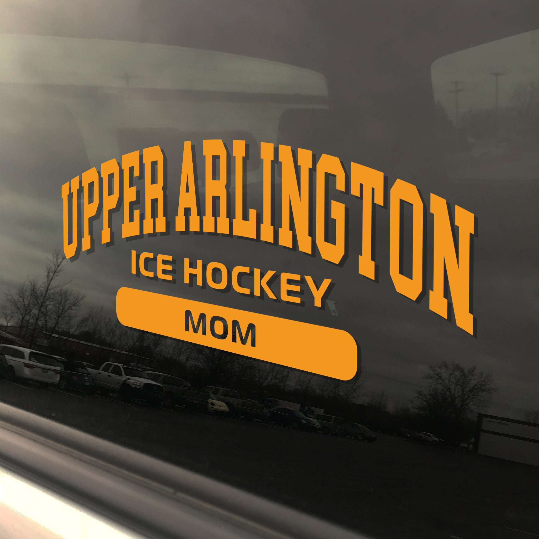 Upper Arlington Ice Hockey Mom UAHS Golden Bear Sticker