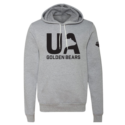 UA Outfitters - Sneaky Bear - hooded sweatshirt - black - gray - hoodie
