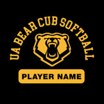 UA Outfitters Custom Upper Arlington Bear Cub Softball Decal