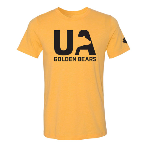 UA Outfitters - UA Golden Bears - Sneaky Bear - gold - black - t shirt