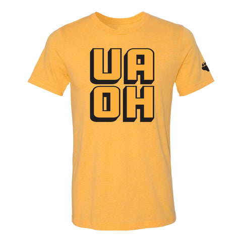 UA Outfitters - UAOH - gold - black - t shirt