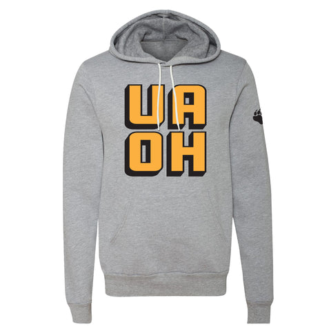 UA Outfitters - UAOH - hooded sweatshirt - black - gray - hoodie
