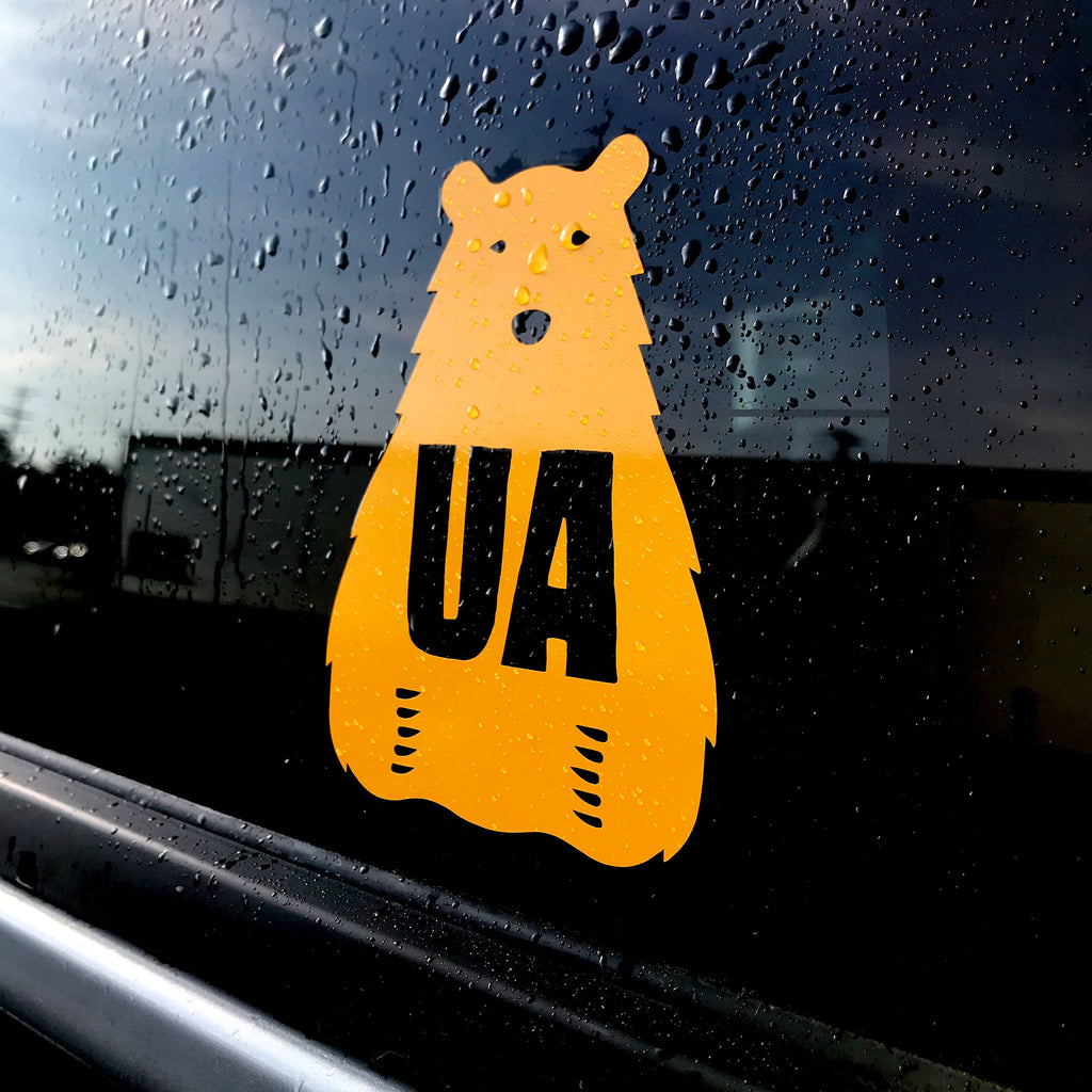 UA Golden Bear Sticker - Upper Arlington Ohio